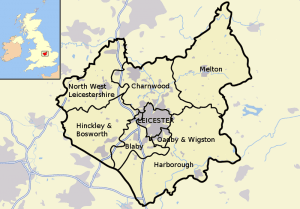 Locksmith Leicester (Leicester Map)